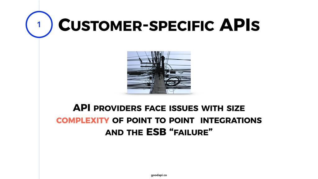 goodapi.co CUSTOMER-SPECIFIC APIS 1 API PROVIDE...