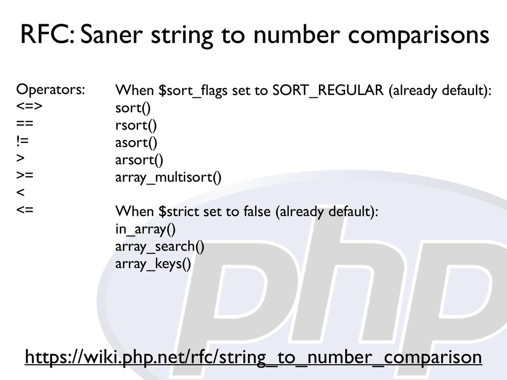 RFC: Saner string to number comparisons https:/...