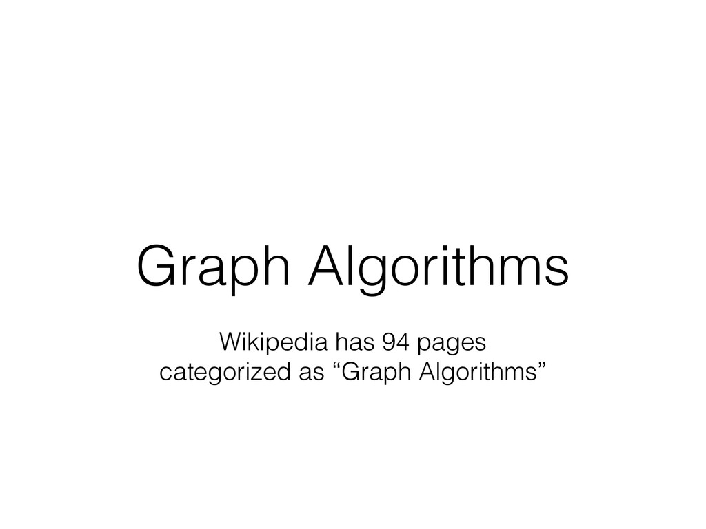 Graph Algorithms Wikipedia has 94 pages categor...